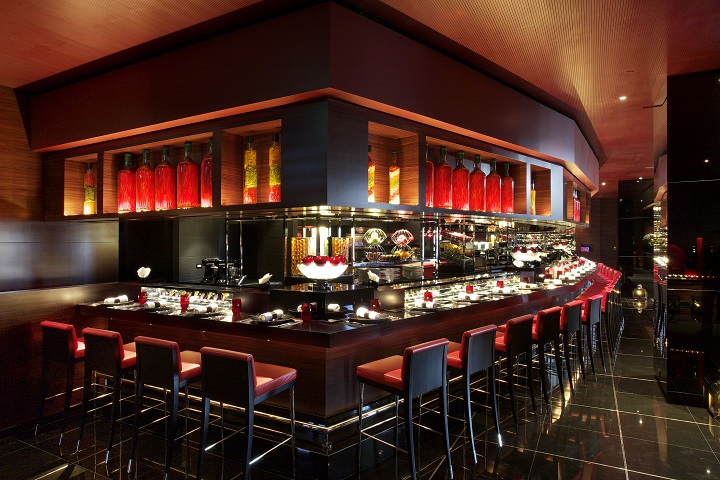 L'Atelier de Joël Robuchon, helmed by Chef Florence Dalia, has been been promoted to Two MICHELIN Stars this year.