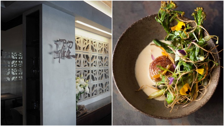 Sur is promoted to One MICHELIN Star from its Plate distinction. The prix fixe menu showcases the changing of the seasons and everyday life.