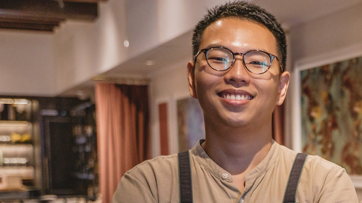 Cloudstreet's Chef Mark Tai is the winner of the MICHELIN Guide Singapore 2021's Young Chef Award