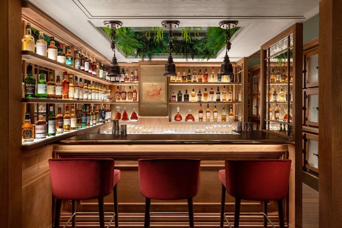 The Aubrey's omakase cocktail bar. (Photo: Courtesy of The Aubrey)