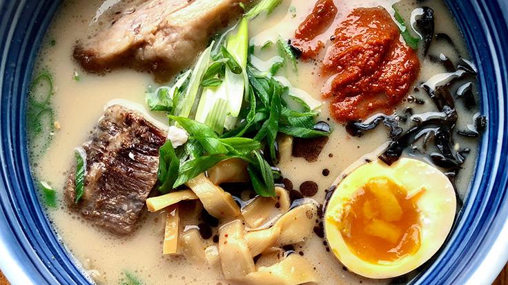 Ramen Wasabi. Photo by Michelin North America