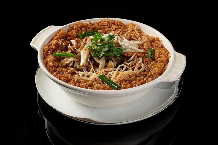 米香的魚皮西魯肉。
