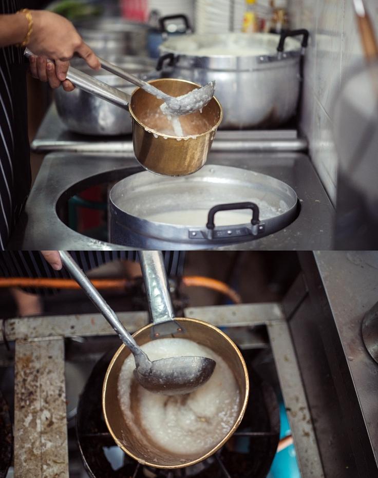 """""""ร้อนระอุจนคำสุดท้าย"""" คือเอกลักษณ์ของร้าน (© อนุวัฒ เสนีวงศ์ ณ อยุธยา/ MICHELIN Guide Thailand)"""