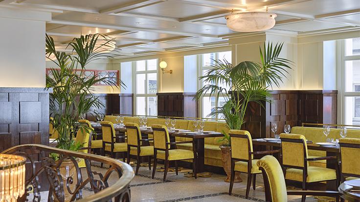 Drouant, le célèbre restaurant qui accueille le prix Goncourt © Julie Limont