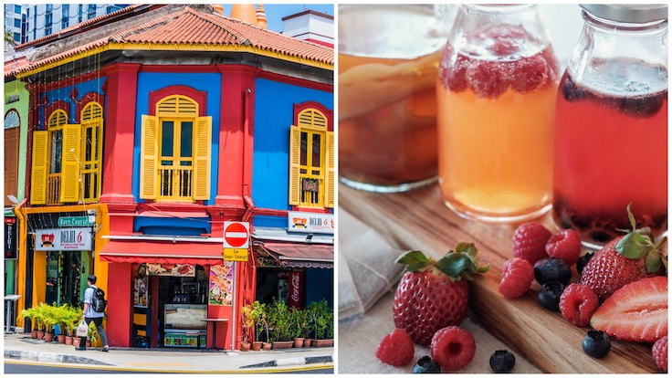 At Wanderlust Hotel, guests can choose between a Little India food tour or a kombucha-making workshop.