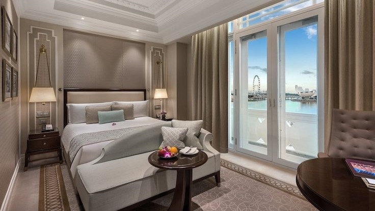 Indulge in breathtaking views of the city, as well as heritage delights, at The Fullerton Hotel Singapore. (Photo by The Fullerton Hotel Singapore)
