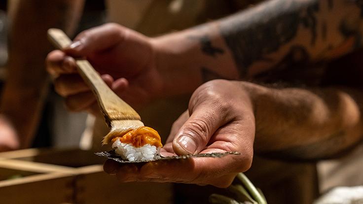 Sushi | Bar Montecito. Photo by Liam Brown, courtesy of Sushi | Bar Montecito