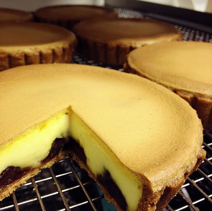 The Date Tart by Chef Neil Perry. (© Michelle Goh/ Mia)