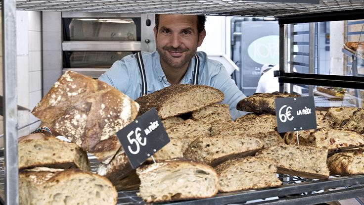 Christophe Michalak a ouvert sa première boulangerie, Kopain © Delphine Michalak