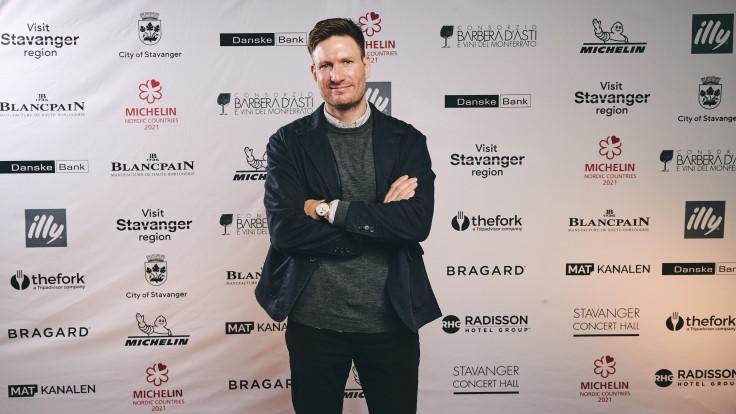 Chef-owner Esben Holmboe Bang