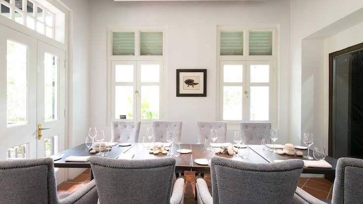 Corner House at the Singapore Botanic Gardens is committed to sustainable gastronomy practices through its waste-minimising initiatives. (Photo by Corner House)