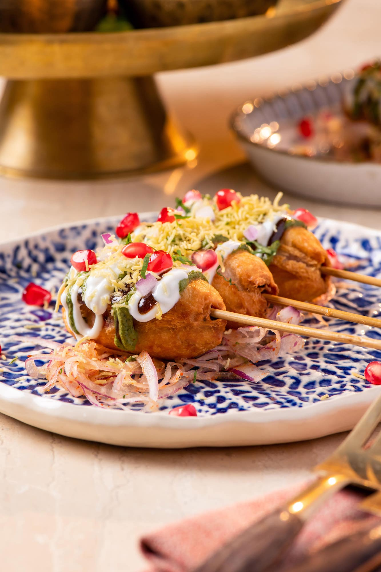 chaat-Beetroot Kulfi Kebab-michelin-guide-world-vegetarian-day.jpg