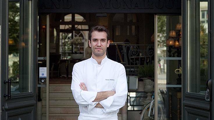 Thomas Parnaud, le chef du Georges, le restaurant du Grand Monarque à Chartres