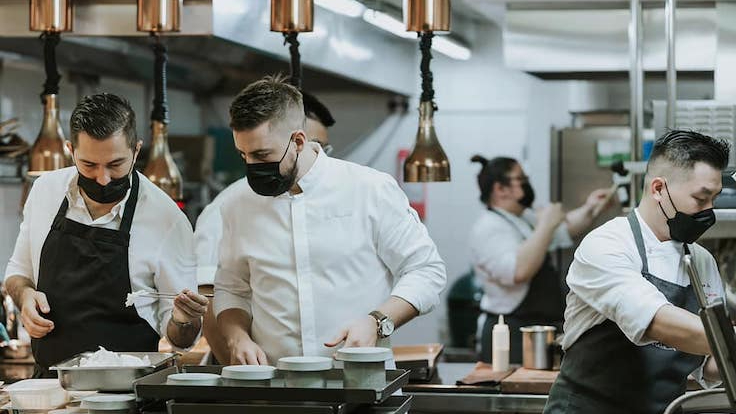 """Westaway says that the restaurant's second MICHELIN star came as a surprise, especially in a period that he describes as """"very difficult""""."""