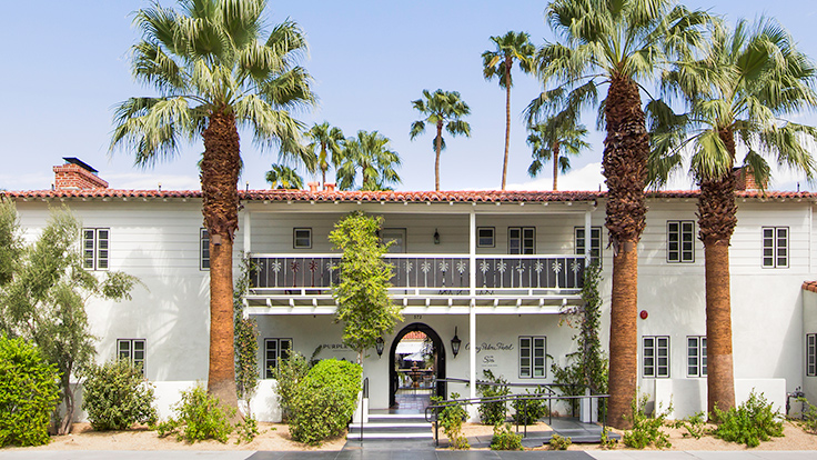 Colony Palms Hotel. Photo by Tablet