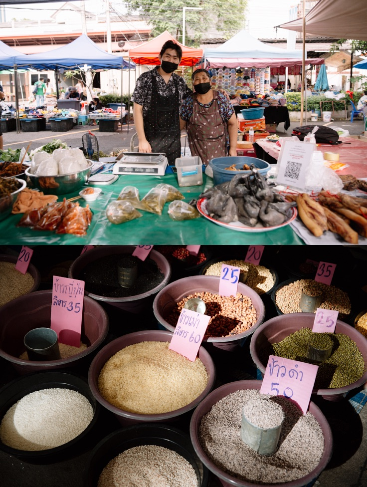 Kad Haw's vendors and merchants comprise a myriad of cultures and ethnicities. (© Jirawat Veerakul / MICHELIN Guide Thailand)