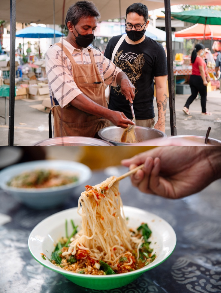 Have you tried sen piak (wet noodles) yet? (© Jirawat Veerakul / MICHELIN Guide Thailand)