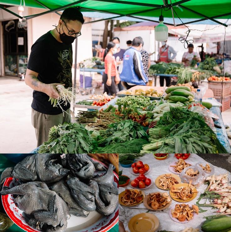 Halal meats and seasonal ingredients fresh from the mountains. (© Jirawat Veerakul / MICHELIN Guide Thailand)